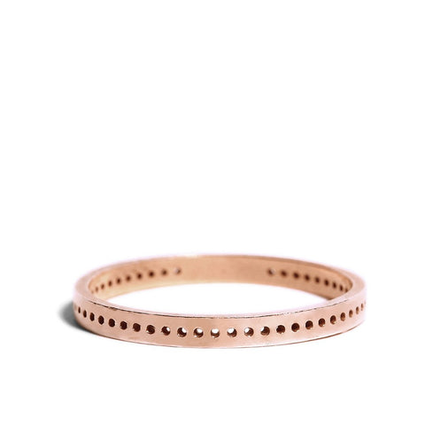 Daria Dot Ring rose