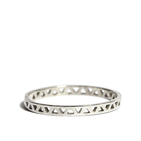 Daria Pyramid Ring silver