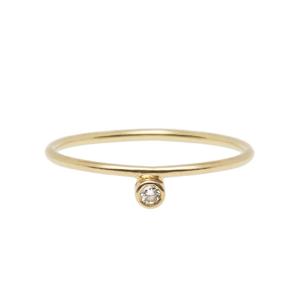 Petit Diamond Ring 14ct gold