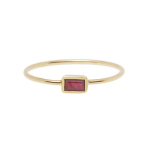 Ruby Ring 14ct gold