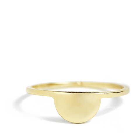 Sunset Ring 14ct gold