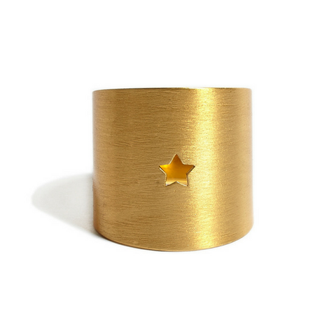Star Ring gold - matt