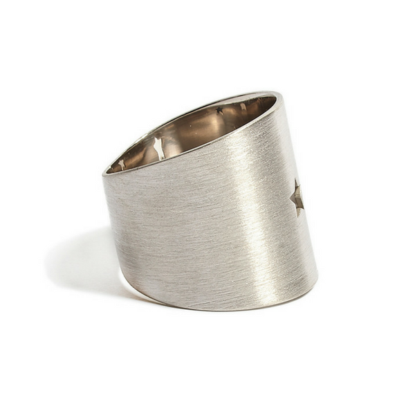 Star Ring silver - matt