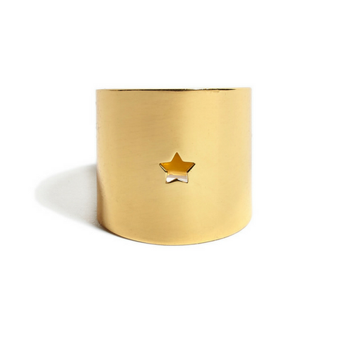 Star Ring gold - shiny