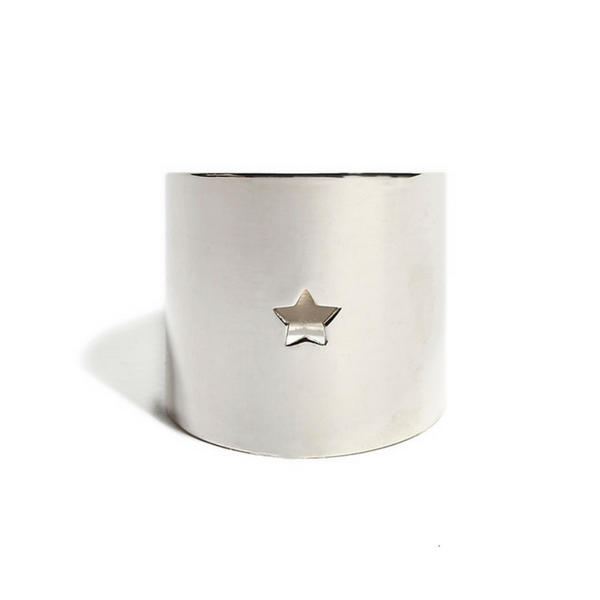 Star Ring silver - shiny