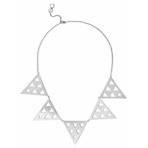 Ainia Triangle Necklace silver