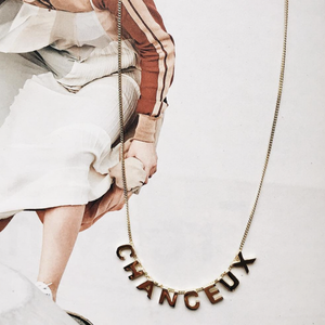 Chanceux Necklace gold