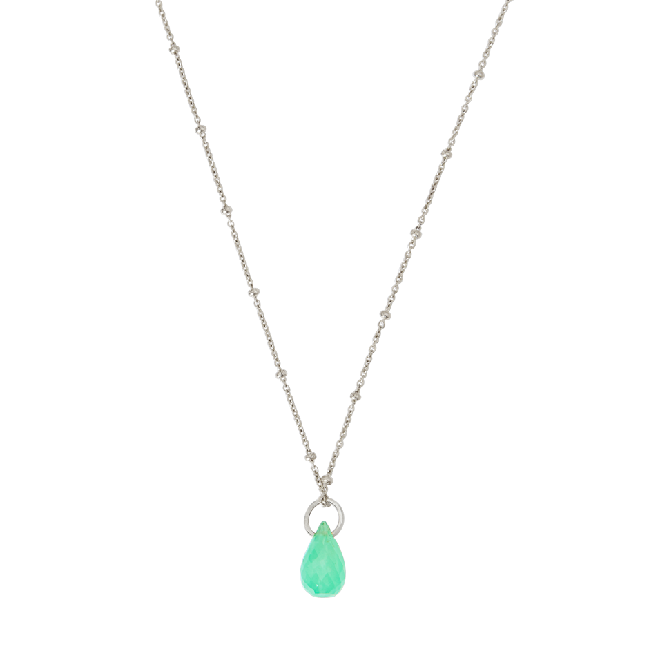 origins necklace shop test davina chrysoprase combe
