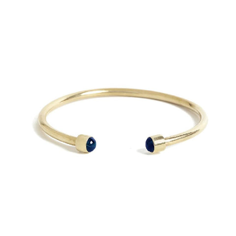 Bangle Lapis gold