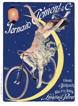 Fernand Clement Bicycles Ad Fine Art Print