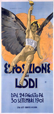 1901 Lodi Expo Advertisement Fine Art Print