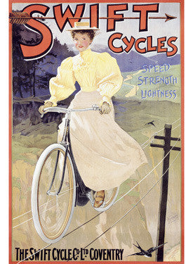 British Swift Bicycles Ad Fine Art Print