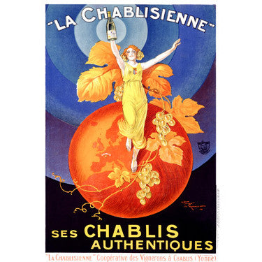 La Chablisienne Wood Sign
