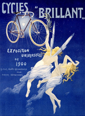 "Cycles ""Brillant"" Ad by H. Gray Fine Art Print"