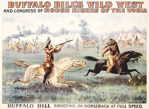 Buffalo Bill's Rough Riders Congress Fine Art Print