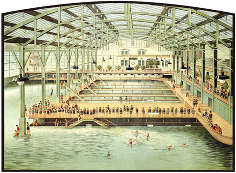 Sutro Bath House San Francisco Fine Art Print