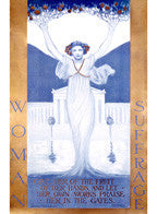 Woman's Suffrage by Evelyn Rumsey Cary Fine Art Print