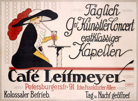 Cafe Leitmeyer Fine Art Print