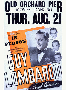 Guy Lombardo and his Jazz Band Fine Art Print