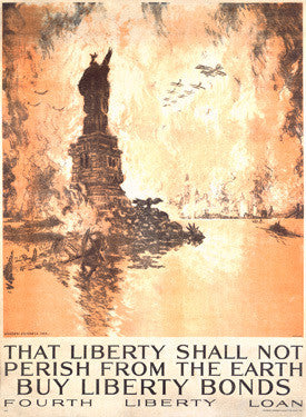 That Liberty Shall Not Perish Fine Art Print
