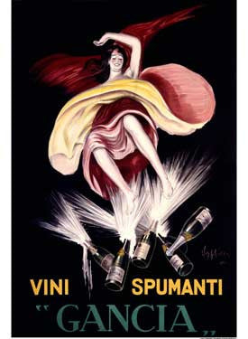 1921 Italian Wine Ad by Leonetto Cappiello Fine Art Print