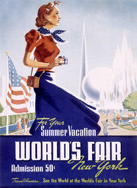 1939 New York Worlds Fair Fine Art Print