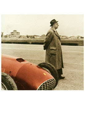Enzo Ferrari F1 Grand Prix Photo Fine Art Print