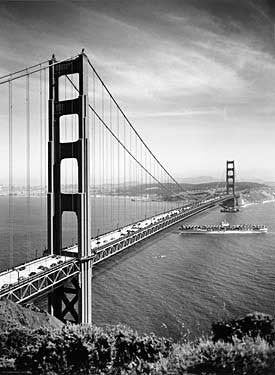 1937 San Francisco Golden Gate Bridge Fine Art Print