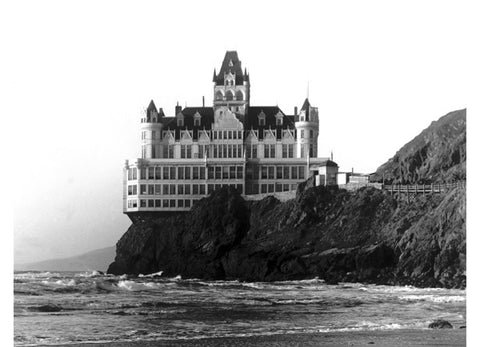 San Francisco Cliff House Hotel Fine Art Print