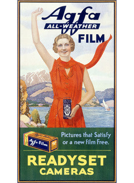 Agfa All Weather Camera Film Advertisement Fine Art Print