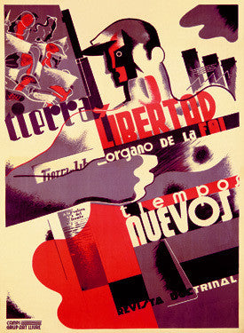 Spanish Revolution Labor Force Fine Art Print