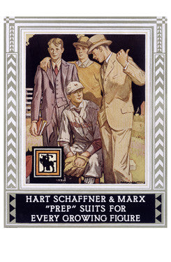 Hart Schaffner and Marx Fine Art Print