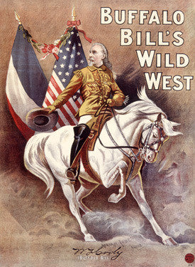 Buffalo Bill Codys Wild West Fine Art Print