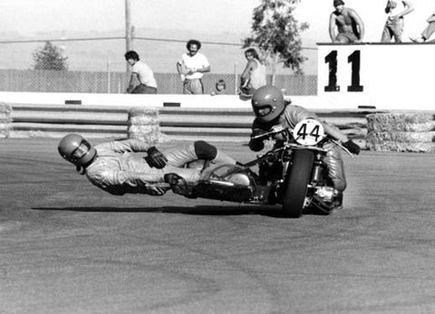 Side Car Racing Sears Point Photo by Jerry Smith Fine Art Print