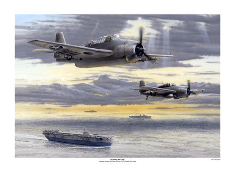 Torpedo Bomber by Don Feight Fine Art Print