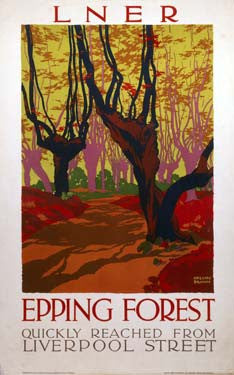 Epping Forest LNER 1923-1947 by Gregory Brown Fine Art Print