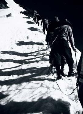 Vintage Mountain Climbers Photograph Fine Art Print