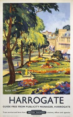Harrogate, BR 1953 by Kenneth Steel Fine Art Print