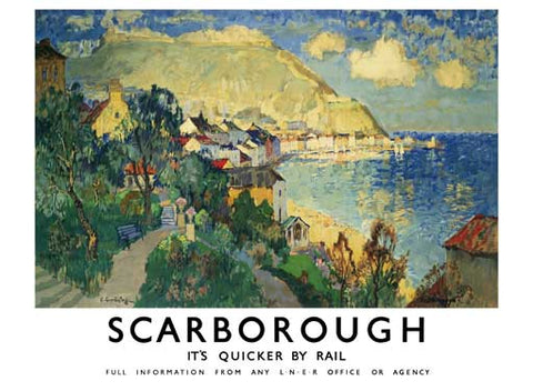 Scarborough by C. Gorbatoff Fine Art Print