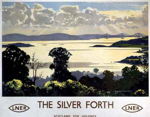 The Silver Forth by Norman Wilkinson Fine Art Print