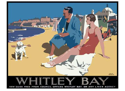 Whitley Bay LNER by Frank Newbould Fine Art Print