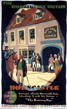 The Booklovers Britain - Horncastle by Austin Cooper Fine Art Print