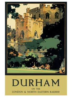 Durham by Fred Taylor Fine Art Print