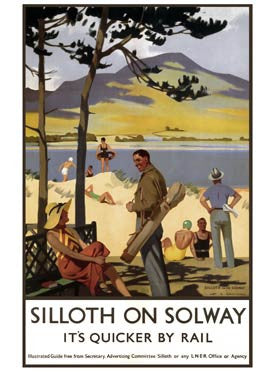 Silloth-on-Solway by Henry George Gawthorn Fine Art Print