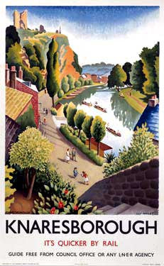 Knaresborough by Guy Malet Fine Art Print