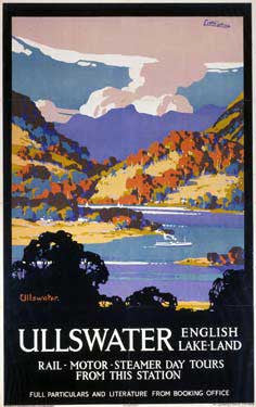 Ullswater - English Lake-Land by John Littlejohns Fine Art Print