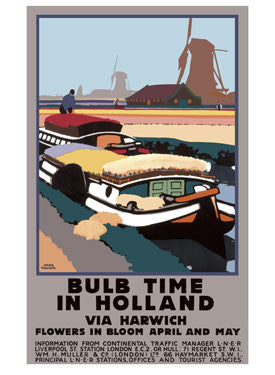 Bulb Time in Holland by Fred Taylor Fine Art Print