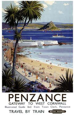 Penzance by Harry Riley Fine Art Print