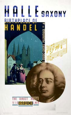 Saxony, Birthplace of Handel by Austin Cooper Fine Art Print