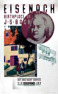 Eisenach, Birthplace of Bach by Austin Cooper Fine Art Print
